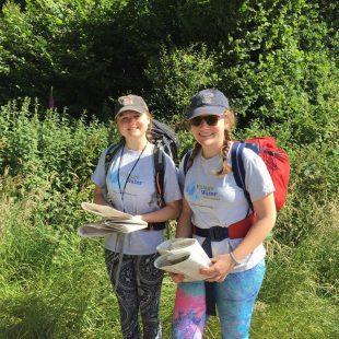 Kate and Flora organised their own sponsored walk and raised £357!